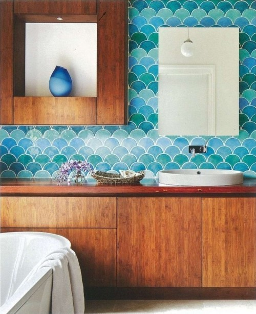 eclectic-bathroom-cool-decor-idea-in-melbourne